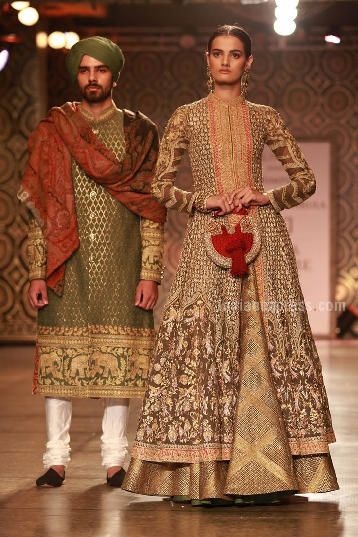 Rimple and Harpreet Narula at the FDCI India Couture Week (ICW) 2016.