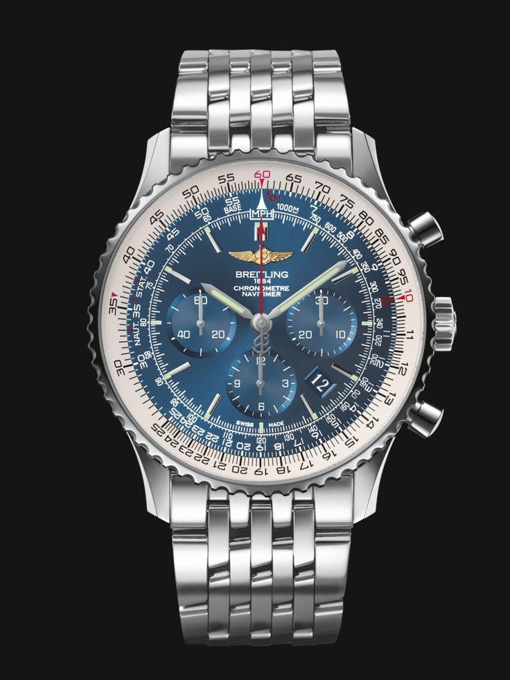 Breitling Navitimer 01 (46mm) – Schweizer Uhr für Piloten