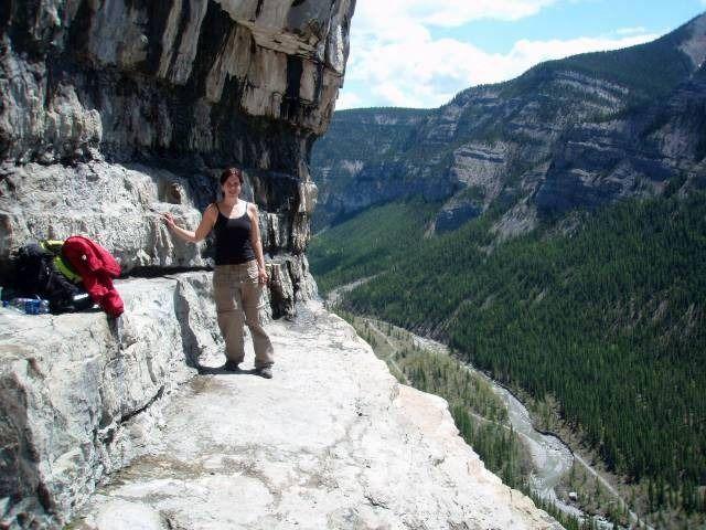 The Ice Caves – Canyon Creek, Kananaskis Country, Alberta, Canada