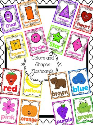 FREE Color and Shape Poems and Flashcards from Teacher Twinkle Toes on TeachersNotebook.com -  - Super cute color and shape poems!