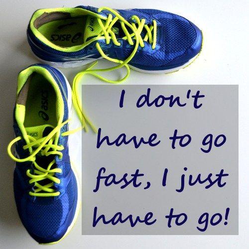 Soms moet je gewoon beginnen! Beginnen met hardlopen is belangrijker dan de snelheid!