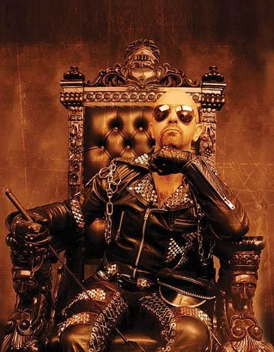 Somewhere in between this photo & the photo of Lemmy lies the truth of Rock & Roll !!    Rob Halford - a founding member of heavy metal godfathers, Judas Priest - The undisputed voice of Heavy Metal.