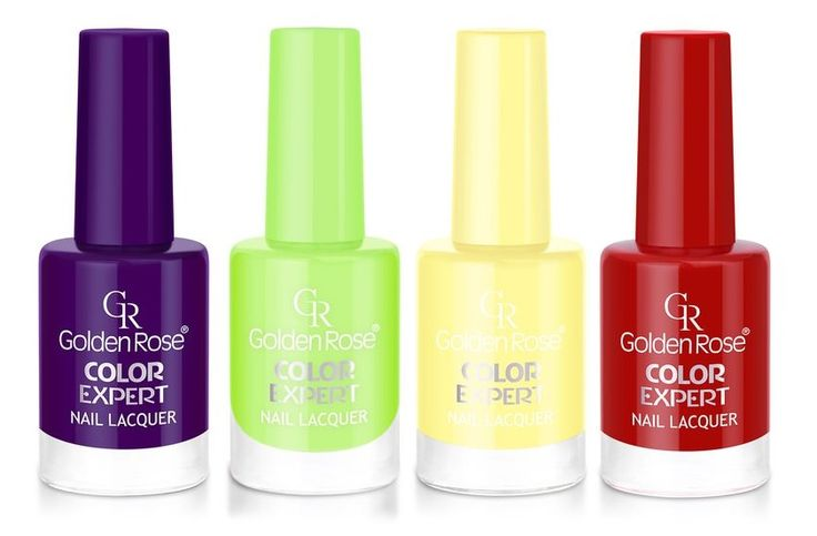 Golden Rose Color Expert Nail Lacquer Teletubbies colors #TinkyWinky #Dipsy #Laalaa #Po #Teletubbies #Purple #Green #Yellow #Red