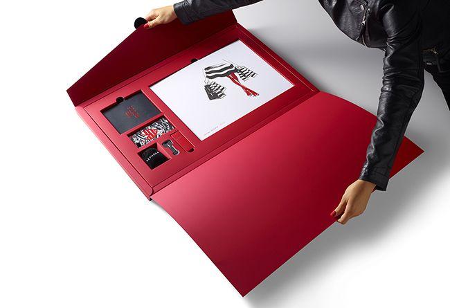 """Sephora """"VIB Rouge press kit""""."""