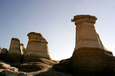 Hoodoos-A Badlands landmark