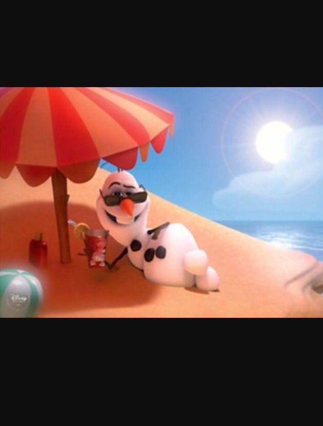 Yo tengo calor cuándo yo tomo el sol.