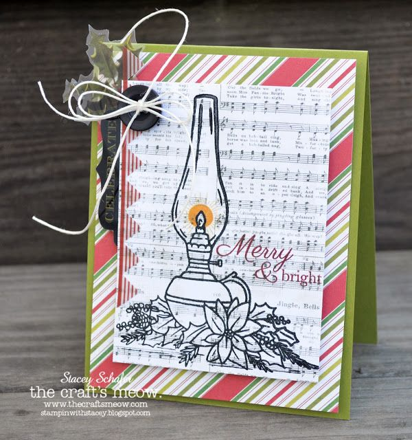 Stacey's Stamping Stage: The Craft's Meow October Release Day 3 - Christmas Lantern