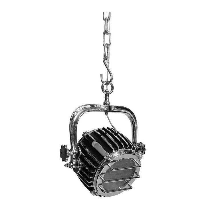 Lampa reflektor to jedyna w swoim rodzaju lampa z serii wiszących. Podwieszana na łańcuchu dodaje pazura pomieszczeniu.  Więcej na www.lawendowykredens.pl