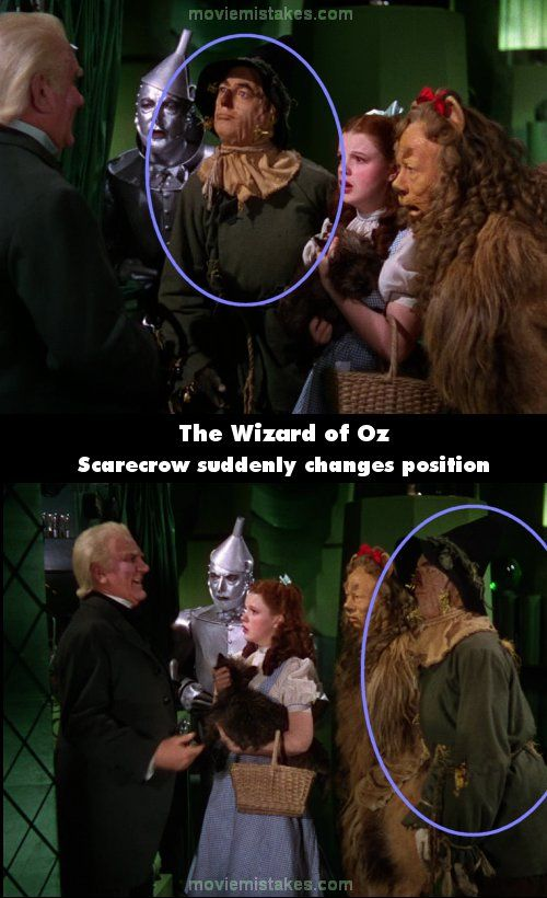 The 15 biggest mistakes in The Wizard of Oz