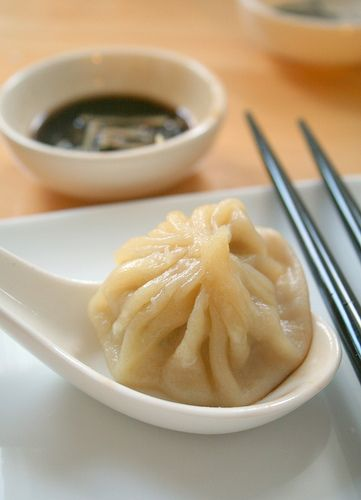 Xiao Long Bao - Little Soup Dumplings  by nookandpantry: Try not to lose a single drop of the savory soup inside! Click through the photo and scroll way down for the recipe. #Dumplings #Xiao_Long_Bao #nookandpantry: Chine Dumplings Recipe, Recipe Xiao Long Bao, Savory Soups, Dumplings Xiao Long Bao, Chine Dumplings Soups, Recipe For Xiao Long Bao, Soups Inside, Soups Dumplings, Chinese Food