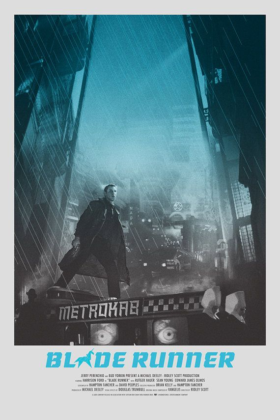 Blade Runner alternative movie poster