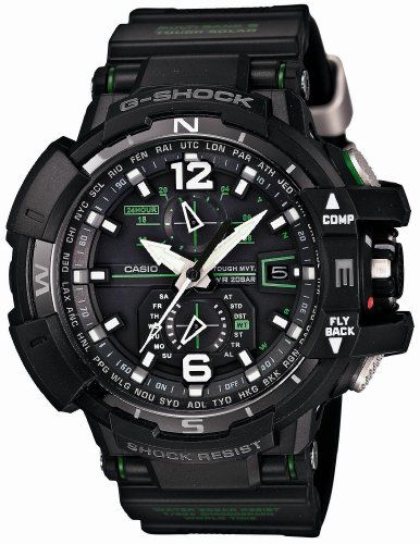 Men's Wrist Watches - Casio Gshock Gwa11001a3jf Sky Cockpit Mvt Radio Control Multiband 6 * You can find out more details at the link of the image.