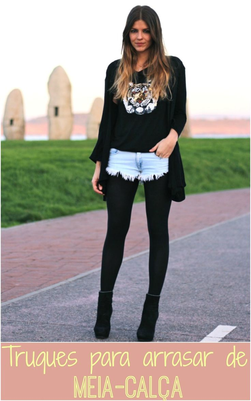 Como usar Meia-Calça | luvmay.com.br