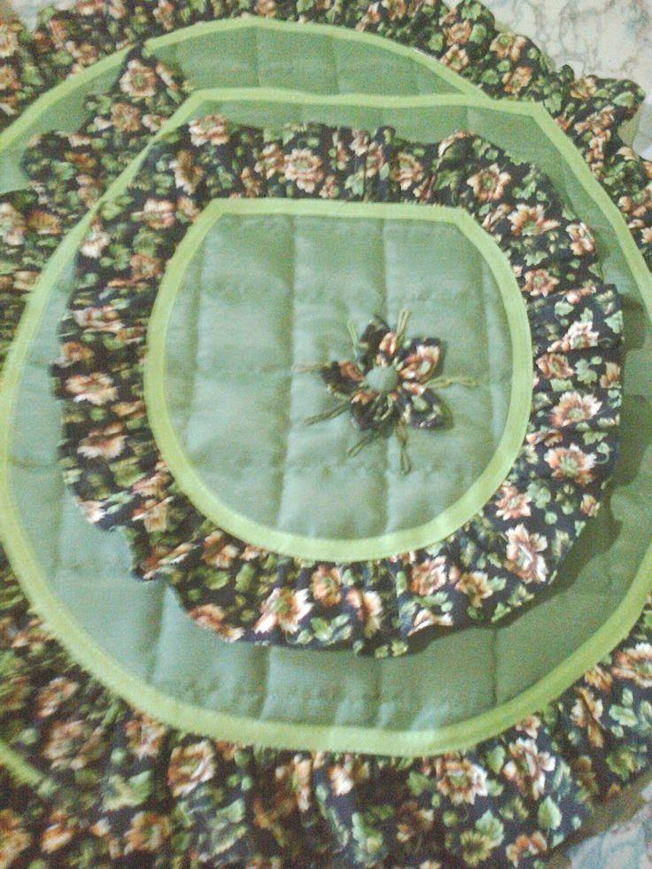 Juego verde en tela