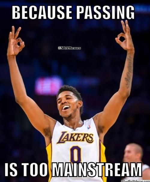 Nick Young: The new Lakers ballhog! - http://nbanewsandhighlights.com/nick-young-the-new-lakers-ballhog/