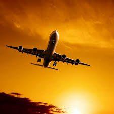 「飛行機 夕焼け」の画像検索結果