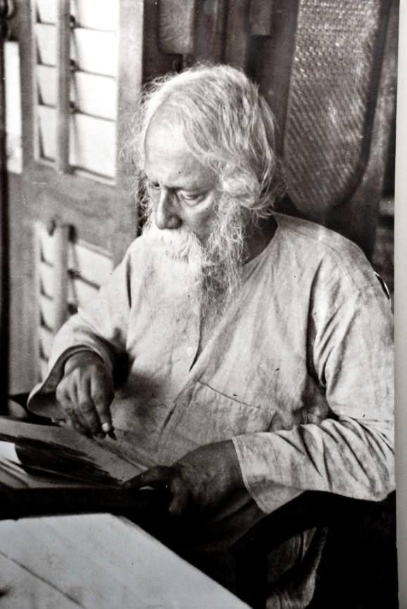 Rabindranath Tagore (Calcuta, 7 de mayo de 1861 - Calcuta, 7 de agosto de 1941)