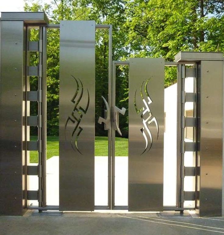 60 amazing modern home gates design ideas gates gate for Modern house gate