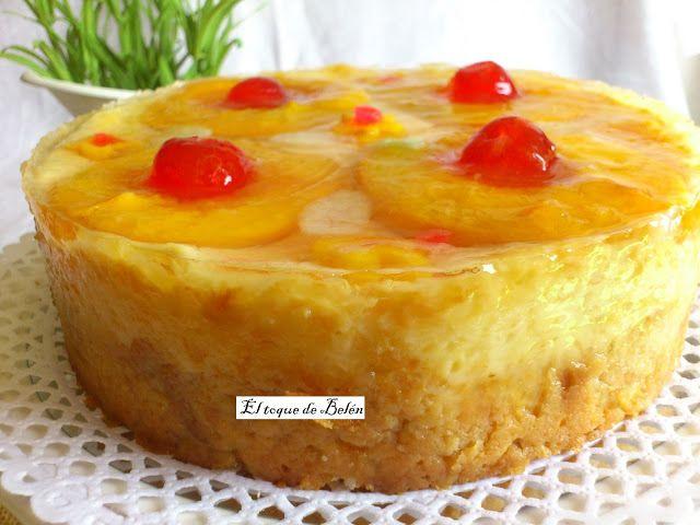 Me enamoró este pastel desde que lo vi, no por la piña (no me gusta mucho), sino porque está hecho de pan duro y meparecióuna receta de a...