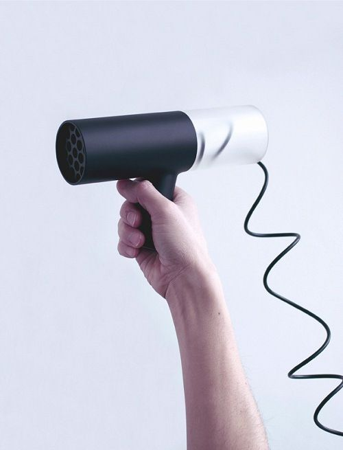 16 best images about hair dryer on pinterest models behance and hair dryer - Unusual uses for a hair dryer ...