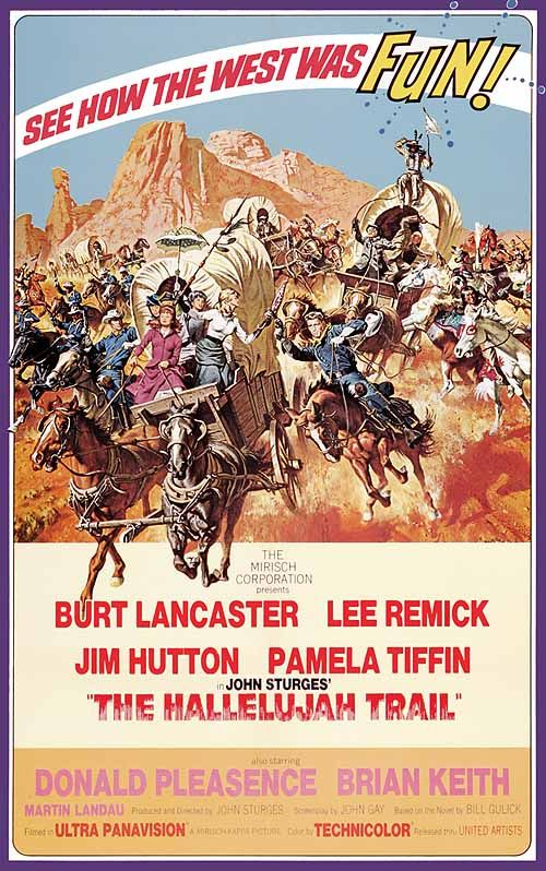 the hallelujah trail - 1965 This was such a great movie, don't know why this is the first time I've seen it mentioned.Look for this one, you won't be sorry