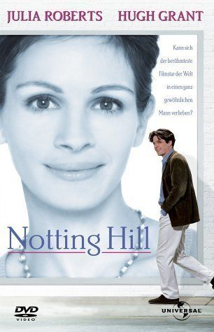 Notting Hill -- Anna Scott is the world's most famous movie star. William Thacker owns a travel bookstore in the quaint neighborhood of Nottig Hill. When their paths cross, the couple comes to face the ultimate question: can two people fall in love with the whole world watching?♥♥♥