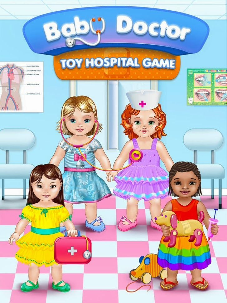 Baby Doctor - Toy Hospital Game App. Kids games.