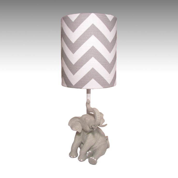 Elephant Lamp And Shade Available In Multiple By Puggifts 30 00