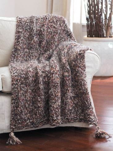 Afghans, Strands and Free knitting on Pinterest