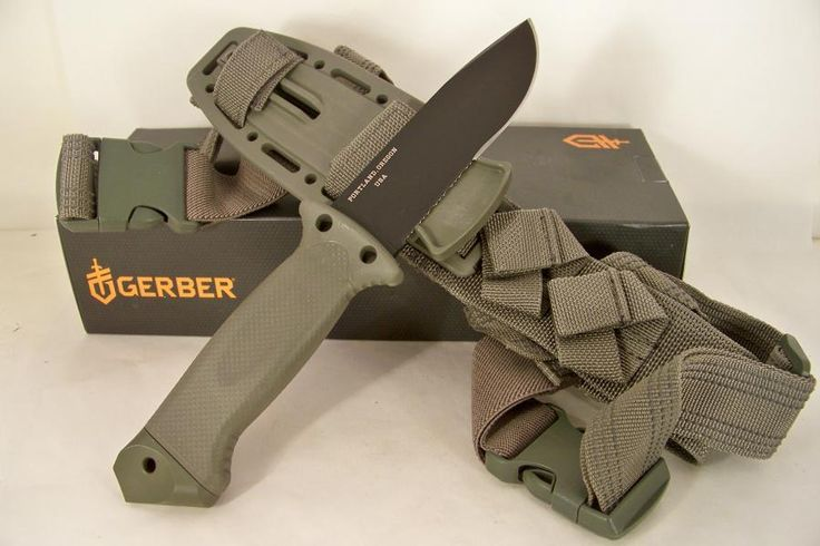 Gerber LMF II Infantry Knife (Green)