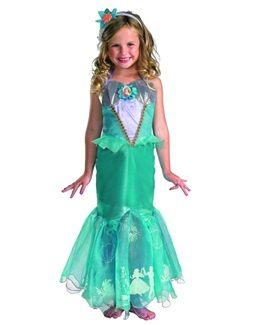 Girlu0027s The Little Mermaid Disney Princess Ariel Prestige Costume  sc 1 st  Pinterest & 12 best Girlu0027s Disney Princess Costumes images on Pinterest ...