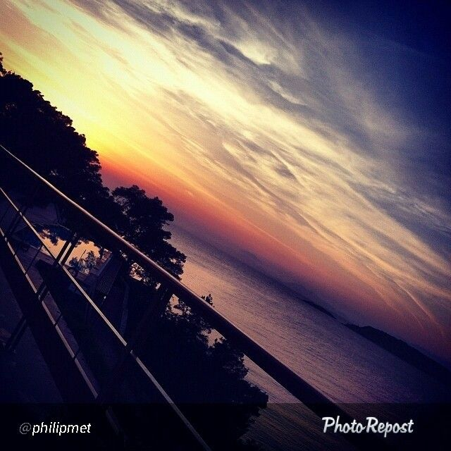 Beautiful Instagram picture - Sunset by the pool of Arion Resort & Spa...   Explore more on www.instagram.com/astirpalace