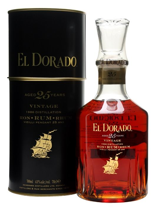 El Dorado 1986 / 25 Year Old : The Whisky Exchange