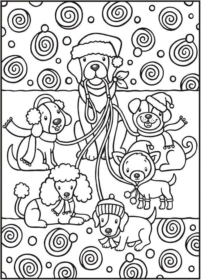 349 best СобакаDog  images on Pinterest Coloring books, Coloring - new snow dogs coloring pages