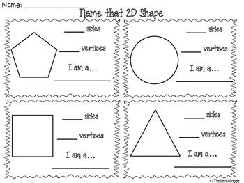 17 Best ideas about Shapes Worksheets on Pinterest | Tracing ...