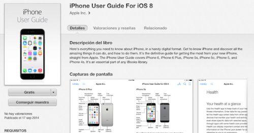 Apple saca una guia de usuario para iOS 8