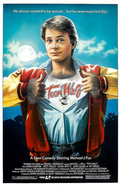 Teen Wolf (1985) by Paxton Holley, via Flickr