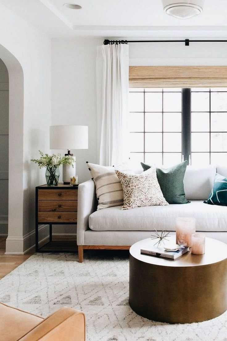 99 Cozy Neutral Living Room Decoration Ideas