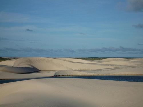 Best places to visit in #Brazil: Barreirinhas, dunes in Lençóis Maranhenses