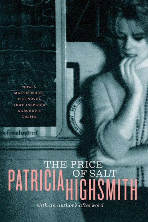 The Price of Salt, Patricia Highsmith | 17 Books With LGBT Characters That Will Actually Change Your Life