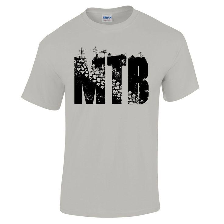 MTB Mountain Bike Cycling Down Hill Trails XC Freeride Bicycle Men's T Shirt | eBay