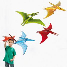 Pterodactyl 3-D Dinosaur Danglers (4 Pack)