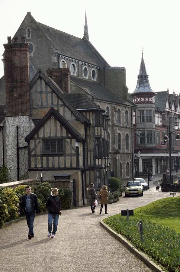 Part of Shrewsbury Town, Shropshire