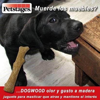 Si tu perro es demasiado mordelón y quieres cambiar esa costumbre Petsatages Dogwood Stick puede ser tu aliado😉 100% Comestible!  Best for Pets cl