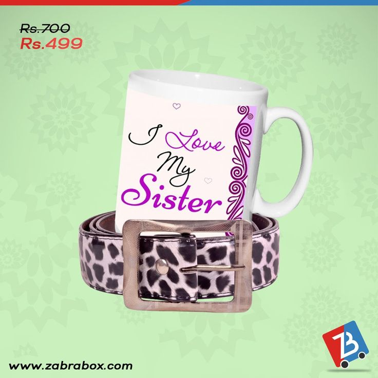 Gift is just an expression of 'Love'. So this Rakhi make your sister know the real feelings.