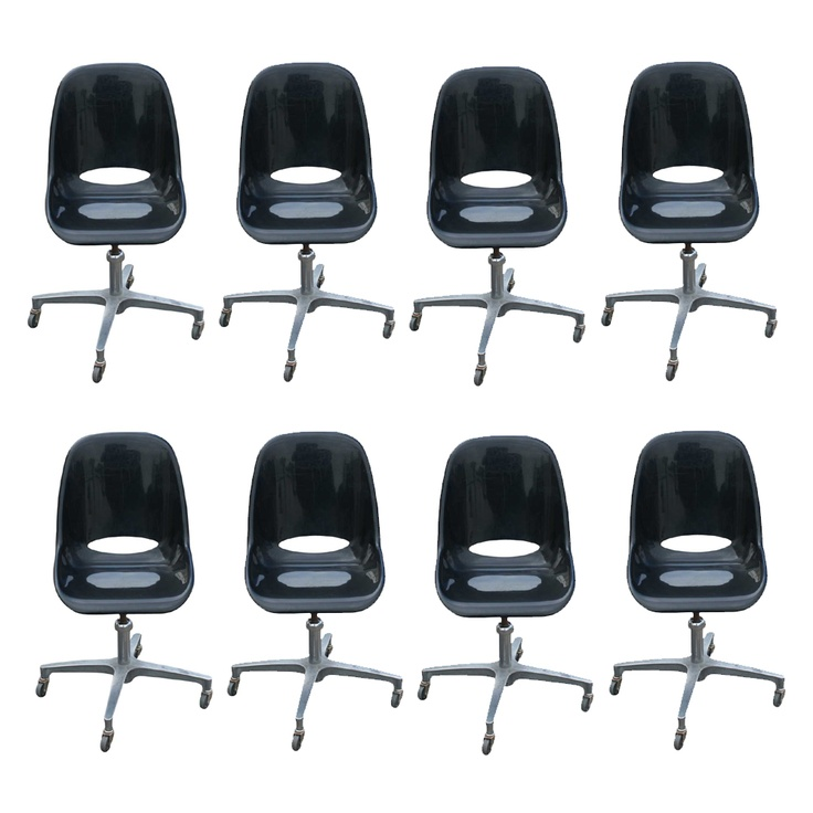 8  Mid Century Modern Black Acrylic Adjustable Chairs  MR10551 15 best Mid Century Modern Wall Shelves images on Pinterest   Wall  . Mid Century Modern Chairs Ebay. Home Design Ideas