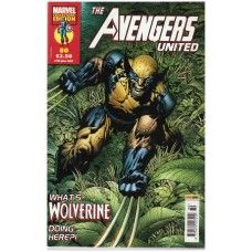 The Avengers United #80 from Marvel/Panini Comics UK. 27th June 2007 issue. In very good condition internally and cover. Bagged and boarded. £2.00