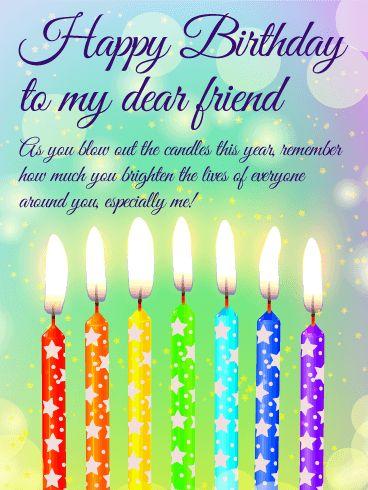 Best 25 Happy Birthday Dear Friend Ideas On Pinterest