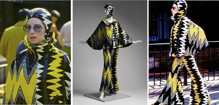 The ultra-modern Arnold Scaasi designs
