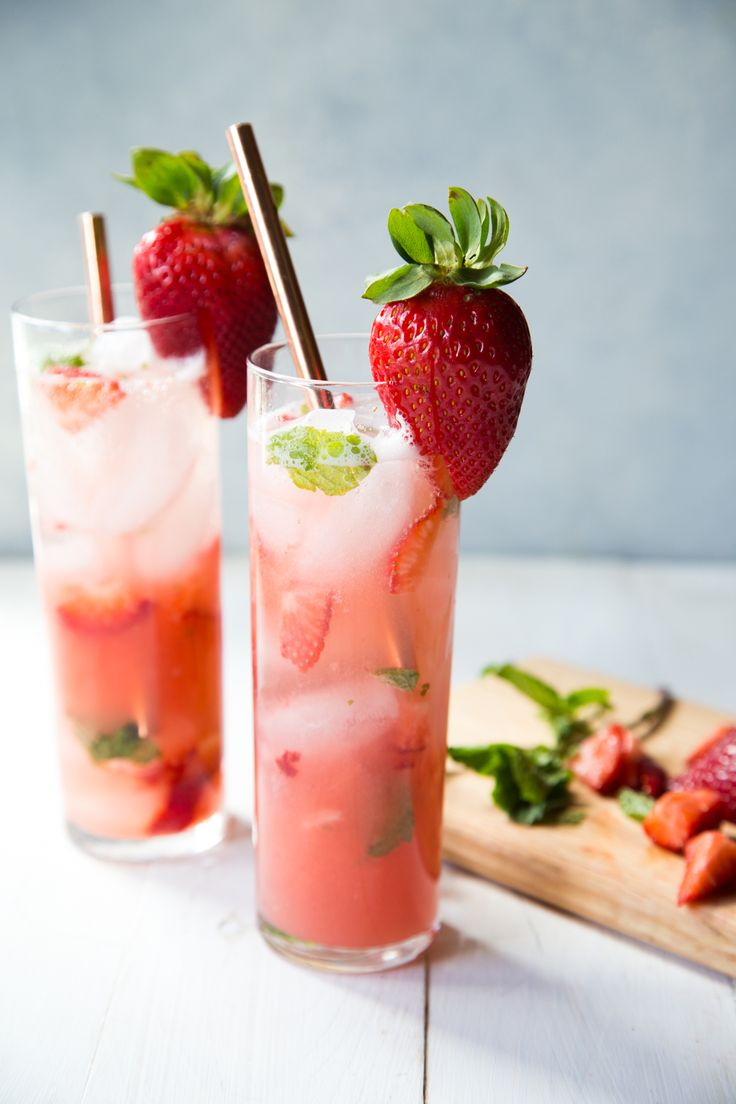 "Mix a batch of these strawberry guava mint agua fresca for your next get together! They are refreshing and easy for a hot summer day. Add a little tequila for a boozy twist! Dish Count :: 1 cutting board, 2 glasses One of the things I have been struggling with (if ""struggling"" is the right …"